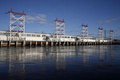 Чебоксарская ГЭСНа Чебоксарской ГЭС готовятся к большой воде Чебоксарская ГЭС паводок