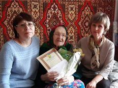 Фото nowch.cap.ruПилила лес, поднимала целину Юбилей Память поколений