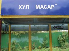 """Остановка """"Городское кладбище"""" по маршруту № 109. Фото автораОтхлестать крапивой  мало Фотофакт"""