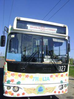 DSC03989.JPGНа экскурсию  на троллейбусе троллейбус