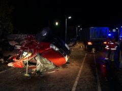 Фото МВД ЧувашииПод Чебоксарами столкнулись самосвал и маршрутка: 11 человек погибли ДТП