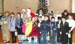 DSCF0848.jpgВ Новочебоксарской специальной (коррекционной) школе прошла благотворительная акция Новый год-2013 Благотворительность