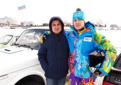 Сергей Михайлов и Дмитрий Белянин. Вот новый поворот, и мотор ревет... автогонки Волжский трек