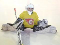 11-летний вратарь Костя Алимов.Где рождаются рыцари клюшек и шайб хоккей ХК Сокол СДЮСШОР № 4