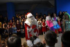 Дети сотрудников ОВД побывали на  новогоднем представлении
