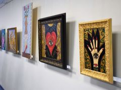 Выставка К. Ивановой. Фото с сайта dnt21.ruТехника ARTKALLISTA поразила гостей выставки в Чебоксарах Выставка