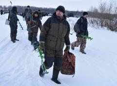 В Чебоксарском районе прошел традиционный динамовский турнир по подлёдному лову рыбы