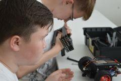 Мечты сбываются с «Ростелекомом»: юные робототехники из Чувашии побывали в Иннополисе Филиал в Чувашской Республике ПАО «Ростелеком» робототехника