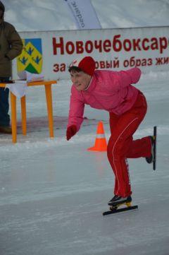 С задором, весело...Рано вешать коньки  на гвоздь конькобежный спорт