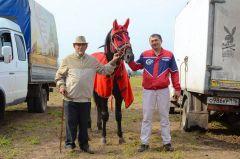 Фенил Земдиханов с Помпеем и своим дедушкой вместе на всех соревнованиях. В роду Земдихановых все занимаются рысистыми бегами. Ах вы кони мои, скакуны! конные бега