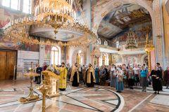 DSC_7586.jpgПрестольный праздник Собора святого равноапостольного князя Владимира Крещение Руси Крестный ход
