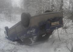утреннее ДТПВ Новочебоксарске за один день в кювете оказались две машины. Водитель одной скрылся с места ДТП  кювет ДТП ГИБДД авто