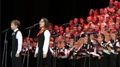 В составе сводного Детского хора России выступили дети из Чувашии сводный детский хор детский хор России