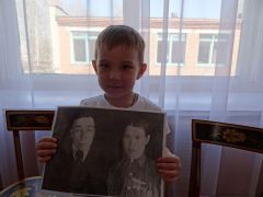 Дима Арисов, 4 годаМой прадед сражался на страшной войне Память поколений Бессмертный полк