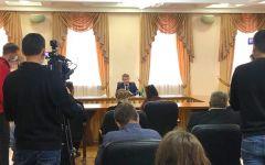 БрифингОлег Николаев допустил изменения в составе Правительства республики Врио Главы Чувашии Олег Николаев