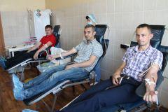 Доноры14 литров крови сдали доноры на Чебоксарской ГЭС РусГидро
