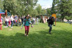 ЭстафетаЧебоксарская ГЭС оборудовала игровую площадку в социально-реабилитационном центре для несовершеннолетних РусГидро