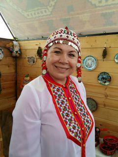 Нина Глотова, директор музея краеведения и истории Новочебоксарска. Фото автораНовочебоксарск  этнокультурный День Республики-2017