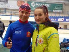 Чувашские конькобежцы на всероссийских стартах обновили рекорды республики конькобежный спорт