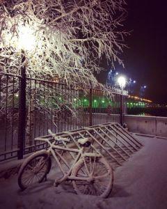 Гидроэнергетики ездят на ГЭС на велосипеде круглый годГидроэнергетики Чебоксарской ГЭС подержали Всероссийскую акцию  «На работу на велосипеде» РусГидро