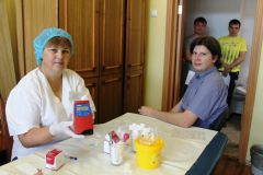 Гемоглобин в норме14 литров крови сдали доноры на Чебоксарской ГЭС РусГидро