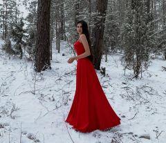 Новочебоксарская модель Евгения Матвеева мороза не боится. Фото из Инстаграма  Е.Матвеевой Мы выросли на той площадке Грани в Сети