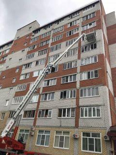Пожар на Советской в Новочебоксарске ЧП пожар