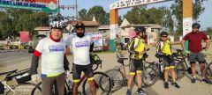 Вячеслав Платонов в ИндииНовочебоксарец Вячеслав Платонов проехал 80 км на велосипеде по Индии в честь 8 Марта 8 марта #ГраниВсегдаСТобой