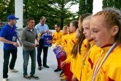 Чувашские школьники стали призерами Всероссийских соревнований «Президентские спортивные игры»