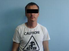 Задержанный. Фото: МВД по ЧРЧувашские полицейские задержали вымогателя в Севастополе вымогательство