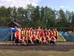 Сборная команда Чувашии в спортивно-туристском лагере «Туриада-2019» Туриада