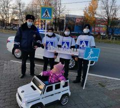 ФлешмобВ Новочебоксарске провели флешмоб о ПДД и проверили снегоуборочную технику ГИБДД сообщает