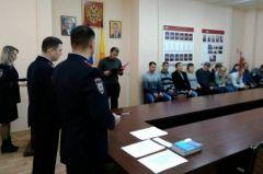 Дал слово — держи! Фото пресс-службы МВД по ЧРПриняли присягу на верность гражданство