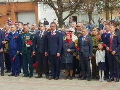 Митинг в НовочебоксарскеПраздничный митинг, приуроченный ко Дню Победы, состоялся в Новочебоксарске  День Победы