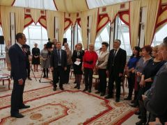 Глава Чувашии Михаил Игнатьев встретился с журналистами республики (видео)