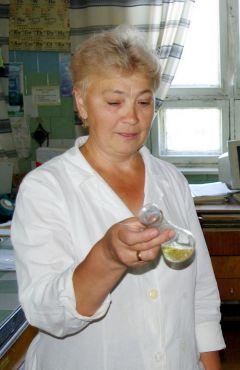 Фото из архива Алевтины СтепановойРазработчик  безотходных технологий день химика