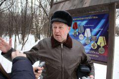 В Ельниковской роще открылась аллея героев-чернобыльцев