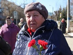 Вдова Пантелеймона МухинаСквозь горечь полыни Чернобыльская АЭС Чернобыльская авария