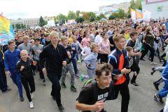 Фото Аллы МАКСИМОВОЙКаждый участник забега –  победитель кросс Нации