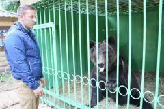 IMG_0061.JPGВ Новочебоксарском зоопарке поселился медведь Потапыч (фото, видео) В зоопарке 2017 - Год Ельниковской рощи