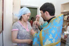 Фото Марии СмирновойВ Перинатальном центре открылась молебная комната перинатальный центр Новочебоксарска