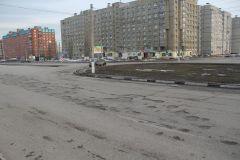 Так выглядело кольцо по ул. Советской на въезде в город в марте 2017 года...Эх, опасные дороги! Комфортная среда Безопасные и качественные дороги