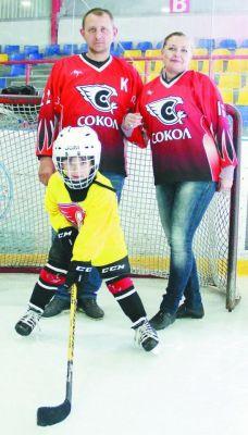 Фото Марии СМИРНОВОЙСемья — хоккейная команда семья Международный день семьи