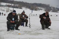 Канашские рыбаки давно мечтали порыбачить на Волге. Фото Марии СМИРНОВОЙНи хвоста, ни чешуи  зимний рыболовный фестиваль