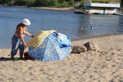 Зонтик носим свой.Пляж — это не только песок и вода