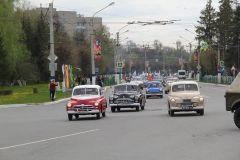 Такой концентрации ретроавтомобилей Новочебоксарск не видел давно.Наследники Великой Победы День Победы