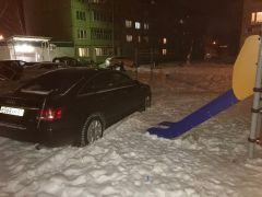 """""""Комфортная среда"""" под нагрузкой парковка"""