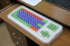 Клавиатура для слабовидящих.Информационный мир без барьеров Цифровая Россия Доступная ИТ-среда