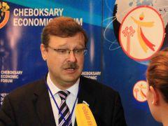 Константин КОСАЧЕВЧувашия — открытый регион   Чебоксарский экономический форум День Республики-2015
