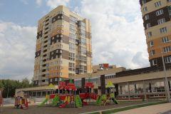 """В цокольной части 16-этажек будет фитнес-центр площадью 2000 кв. м. Чудо-городок с названием """"Спутник""""  Жилье-2017"""